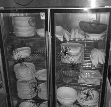传统大清洁柜